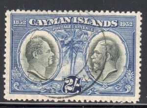 Cayman Island #78 USED CDS C$100.00  -- Choice !!!