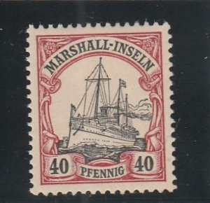 Marshall Islands  Scott#  19  MH  (1901 Kaiser's Yacht)