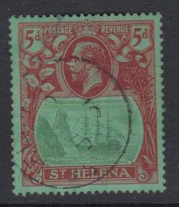 St. Helena, Sc 84 (SG 103), used