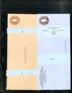 US 14 Rare Classic Specimen Entire Envelopes All Thorpe Listed
