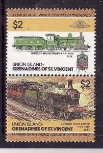 Union Is-Grenadines of St Vincent-Sc#53- id5-unused NH set-Trains-Locomotives-19