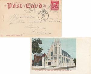 United States New Jersey Orange, N.J. 1904 American Flag Type B14( )  2c Wash...