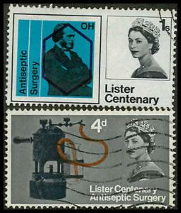 Great Britain 426-427 Used VF H