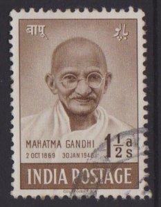 India Sc#203 Used