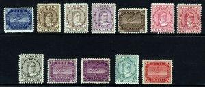 COOK ISLANDS 1896-00 Set Perf.11 Watermark NZ Star SG 11ba to SG 20a MINT