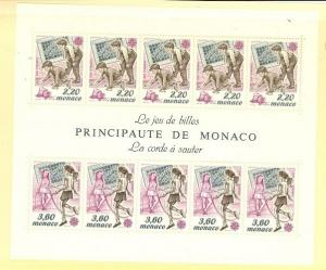 Monaco Scott 1683a Mint NH (Catalog Value $27.50)