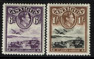 Antigua SG# 104 and 105, Mint Hinged -  Lot 031617