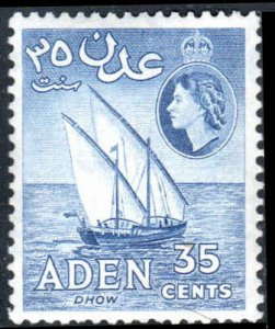Aden  #52  Mint NH CV $2.50