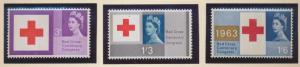 Great Britain Stamp Scott #398p, Mint Never Hinged, Phosphor - Free U.S. Ship...