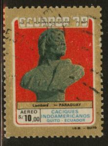 Ecuador Scott C666 used 1980 chief airmail stamp
