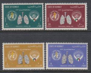 Kuwait 204-207 MNH VF