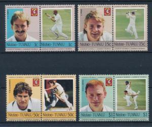 [44368] Tuvalu Niutao 1985 Sports Cricket MNH