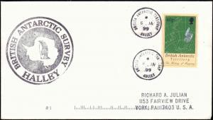 British Antarctic Territory #115, Antarctic Cachet and/or Cancel