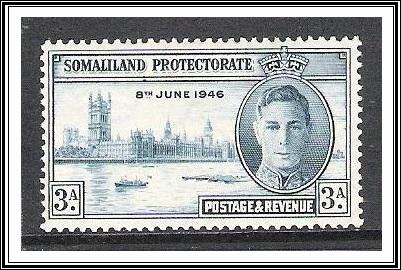 Somaliland Protectorate #109 Peace Issue MH
