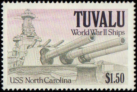 1991 Tuvalu #578-581, Complete Set(4), Never Hinged