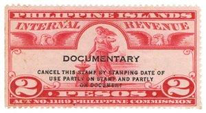 (I.B) Philippines Revenue : Documentary 2P