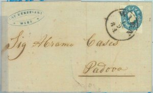88822 - AUSTRIA - POSTAL HISTORY - Ferchenb. # 22 Milch Blau on COVER to ITALY