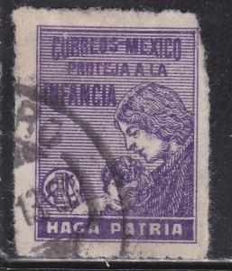 Mexico RA8 Used 1929 Postal Tax Stamp