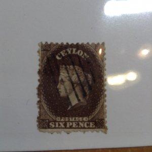 Ceylon  # 53  Used