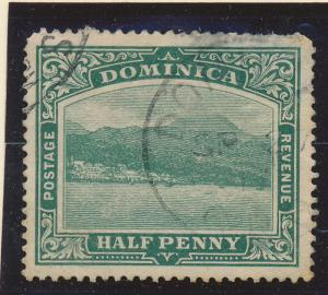 Dominica Stamp Scott #25, Used - Free U.S. Shipping, Free Worldwide Shipping ...