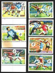 Vietnam. 1990. 2152-58. Italy, FIFA World Cup. MNH.