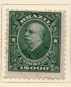 Brazil 1913-16 Early Issue Fine Mint Hinged 1000r. NW-12032