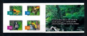 [74351] Australia 2003 Booklet Wild Life Frog Butterfly Self Adh. 20 x 50c MNH