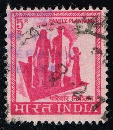India #RA2 Refugee Relief - Postal Tax; Used (0.25)