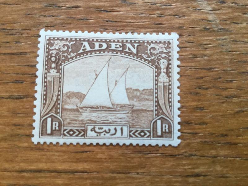 Aden 1R Brown Mint Never Hinged Early Set!