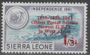 Sierra Leone #254  MNH F-VF (SU502L)