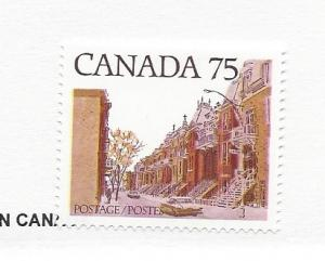 Canada, 724, Old Houses Single, MNH