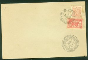 Brazil CATTLE EXPOSITION COVER WITH SPECIAL CACHET..F. (51)
