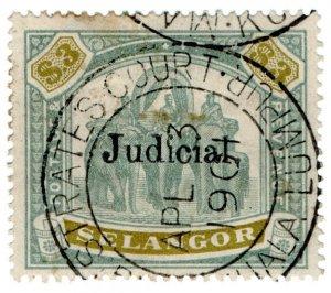 (I.B) Malaya States Revenue : Selangor Judicial $3