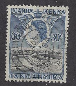 Kenya, Uganda, Tanzania  Scott # 102   Used