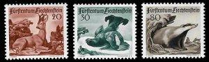 Liechtenstein #243 to 245 Mint XF LH
