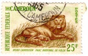 Cameroun Scott 397 (1964: Waza National Park - Lion)