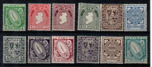 Ireland Scott 106-17 Mint NH (Catalog Value $232.75)