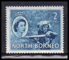 North Borneo Very Fine MLH ZA5649