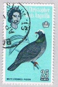 St Kitts Nevis & Anguilla 155 Used Pigeon 2 1963 (BP53408)