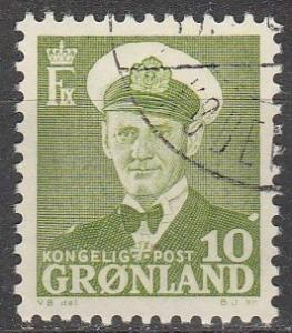 Greenland #30 F-VF Used (S62)