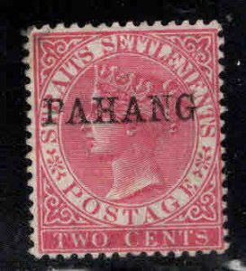 MALAYA-Pahang Scott 6 Used 16x2.75mm  overprinted