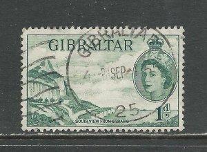 Gibraltar Scott catalog # 133 Used