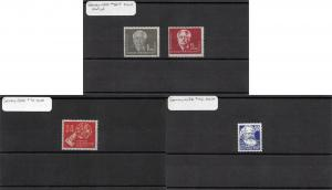 Lot of 10 Germany DDR MNH Mint Stamps Scott Range 56 - 151 #141461 X R