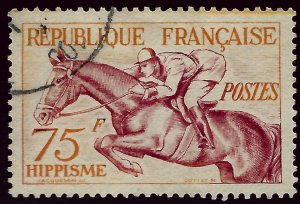 France Sc #705 Used VF SCV$12...French Stamps are Iconic!