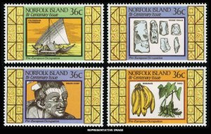 Norfolk Islands Scott 397-400 Mint never hinged.