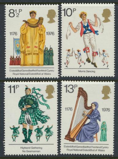 Great Britain SG 1010 - SG 1013 -MUH set - Cultural Traditions