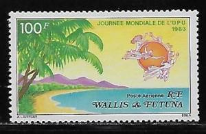 Wallis and Futuna Islands C120 UPU Day single MNH