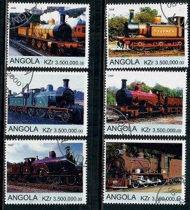Angola Used Locomotives complete set CTO
