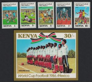 Kenya World Cup Football Championship 5v+MS SG#379-MS384