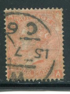 Great Britain #43 Plate 14 Used